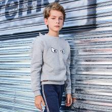 Fixoni童装2018男童卫衣春秋新款儿童套头潮款长袖卡通儿童卫衣BDS003