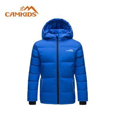 camkids垦牧儿童女童羽绒服冬季新款保暖男童外?#23383;?#22823;童棉服