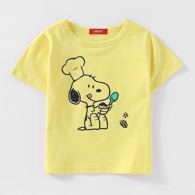 史努比男女童时尚休闲T恤SS1906