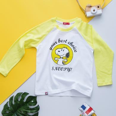 snoopy/史努比多色秋季T恤
