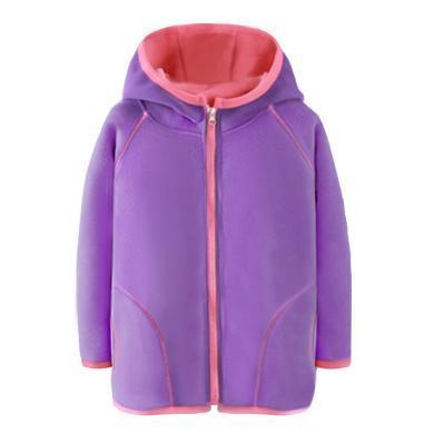 爸媽親兒童外套秋冬男童女童搖粒絨外套保暖外套兒童防風衣87112