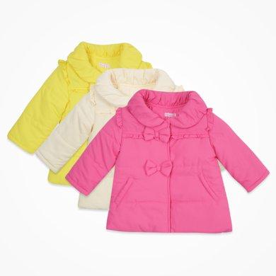 丑丑嬰幼 女寶寶保暖棉衣冬季女童可愛棉衣
