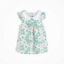 丑丑婴幼夏季新款女宝宝翻领可爱上衣女童娃娃衫 CFE255T