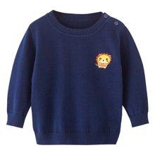班杰威尔童装针织衫儿童空调衫宝宝开?#26469;?#31179;毛衣外套