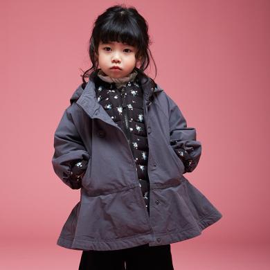 康衣兒童寶寶羽絨服內膽可拆女童羽絨服中長款1-3-6歲【送圍巾】