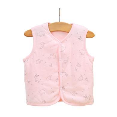 ocsco 嬰幼兒童裝馬甲秋冬新款男童女童背心夾棉外套0-2歲童裝
