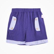 丑丑婴幼 新款男童时尚短裤 夏季男宝宝运动针织短裤 1-3岁CJE104X
