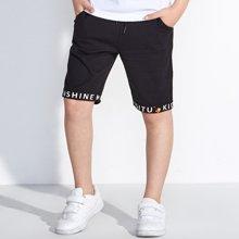迪斯兔/disitu男童运动短裤儿童中裤休闲裤中大童纯棉五分裤夏季新款童裤D2705