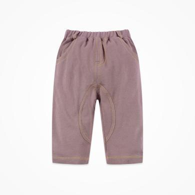 丑丑嬰幼 男童純棉時尚中褲夏季新款男寶寶針織五分褲2-5歲 CNE115X