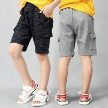 ocsco  童裤夏季新款男韩版男童休闲五分裤学生工装短裤儿童裤子