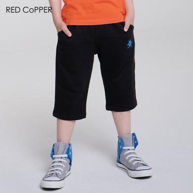 redcopper 瑞德酷普 2019夏裝新款純棉男童休閑短褲七分褲