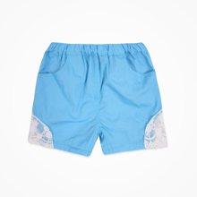 丑丑婴幼 夏季女宝宝纯棉短裤女童时尚短裤 1岁半-5岁 CJE154T