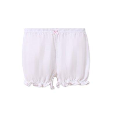 爸媽親童褲女童燈籠褲純棉女寶寶三分褲兒童短褲女童安全褲86938