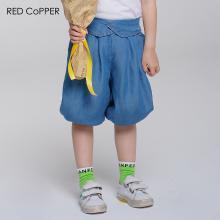 redcopper 瑞德酷普 2019夏装新款女童牛仔短裤灯笼裤