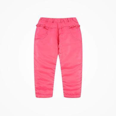 丑丑嬰幼 女寶寶休閑棉長褲冬季女童時尚保暖長褲 1-5歲 CIE061T