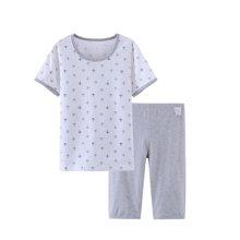 爸妈亲儿童套装短袖纯棉宝宝空调服家居服男童内衣套夏季新款短袖86204