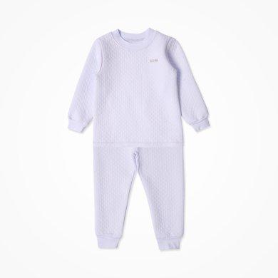 丑丑嬰幼 新款男女寶寶半高領保暖套裝秋冬休閑圓領套裝 2-6歲