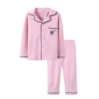 兒童睡衣全棉寶寶家居服空調服 男童女童秋衣秋褲兒童裝家居服