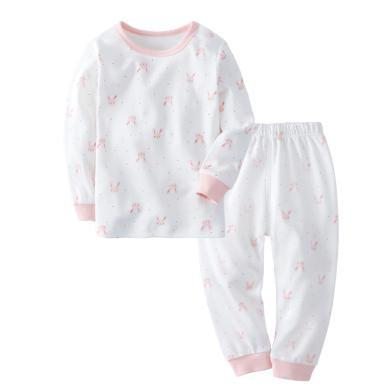 爸媽親嬰幼兒內衣套裝中小童秋衣秋褲套裝寶寶內衣秋褲兒童兩件套88735
