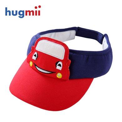 hugmii 小帽檐空頂帽兒童遮陽帽