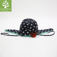 kk树新款儿童帽子秋冬款宝宝保暖加绒护耳帽男童女童潮版小孩帽子 KQ14055 包邮