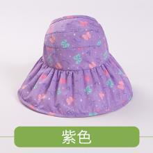 kk树儿童防晒帽海边沙滩个性宝宝帽子透气遮阳帽双面女童太阳帽潮   KQ17685  包邮
