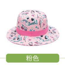 KK树宝宝夏天帽子双面薄款儿童渔夫帽防晒帽男透气女童遮阳帽盆帽 KQ17689 包邮