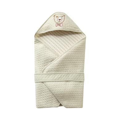 春秋季棉質保暖寶寶嬰兒抱被防風舒適新生兒抱被