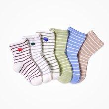 丑丑婴幼 男女宝宝童袜2017秋冬新款婴童短袜婴儿袜子1~3岁 2件装