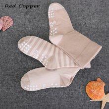 瑞德酷普儿童棉袜男女可爱印花中筒宽松口防滑袜3双袋装717001