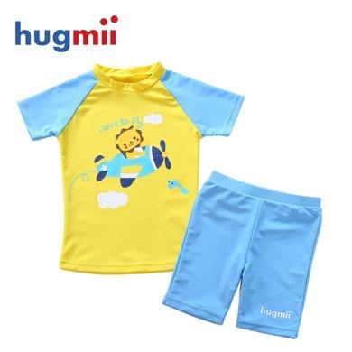 hugmii 新款分体泳衣 儿童款