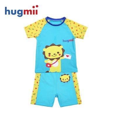 hugmii 儿童分体 短款泳衣