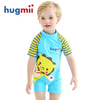 hugmii 兒童連體泳衣