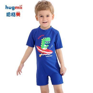 hugmii/哈格美兒童F2-19兒童連體泳衣