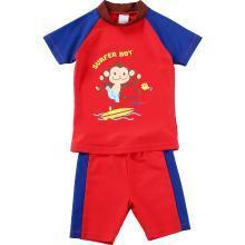 兒童泳衣男女童分體寶寶可愛嬰兒大小孩度假溫泉游泳衣