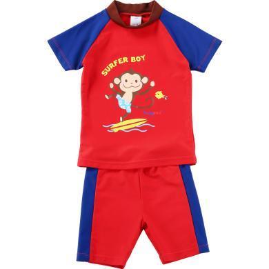 儿童泳衣?#20449;?#31461;分体宝宝可爱婴儿大小孩?#29123;?#28201;泉游泳衣
