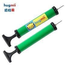 hugmii儿童游泳圈手臂圈便携式打气筒充气泵手压式快速充气