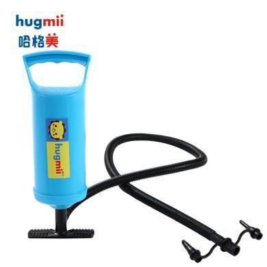 兒童泳圈泳艇手臂圈充氣泵打氣筒手壓多口徑便攜式快速充氣