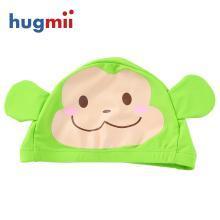 儿童泳帽泳衣男女童小孩游泳衣帽卡通可爱宝宝泳装泳帽