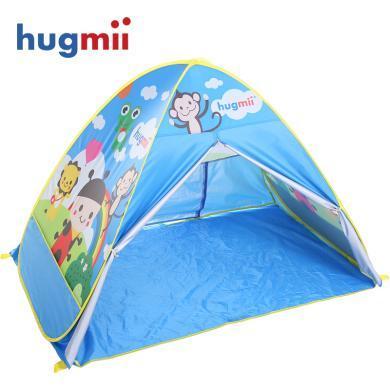 儿童帐篷野外户外?#21152;?#20840;自动速开野营卡通帐蓬游戏屋