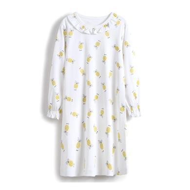 爸媽親兒童睡衣純棉女童睡衣睡裙A類寶寶裙子連衣裙女寶寶家居服86597