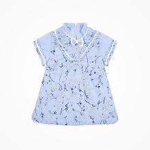 丑丑嬰幼 女寶寶梅花棉旗袍冬季女童民族風棉連衣裙1-4歲
