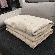 领秀范儿冬季毯子被子加厚保暖床垫毛毯垫法兰加绒毛绒床单法莱珊瑚绒单儿童被空调被88002