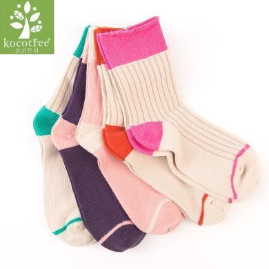 KK樹兒童襪子春秋男童女童透氣長筒中大童寶寶襪子3-5-7-9歲  KQ16040  包郵