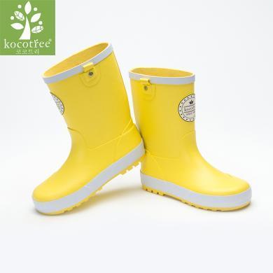 kk树儿童雨鞋男童可爱雨靴防滑学生专用水鞋女童公主宝宝四季通用  KQ17676  包邮