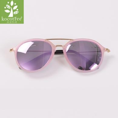 kk樹兒童墨鏡正品潮男童眼鏡偏光女童寶寶太陽鏡個性韓版防紫外線  KQ28203 包郵