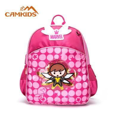 camkids墾牧書包小學生女童雙肩包-年級兒童小女孩漫威卡通背包