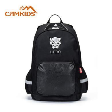 camkids墾牧書包小學生--年級男兒童-周歲漫威黑豹雙肩背包