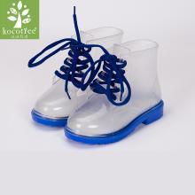 kk树儿童雨鞋男童学生四季防滑透明小孩雨靴可爱女童公主宝宝水鞋   KQ18037  包邮