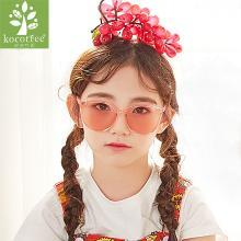 KK树儿童眼镜墨镜男童太阳镜女童正品个性宝宝眼镜防紫外线潮韩版 KQ28202 包邮